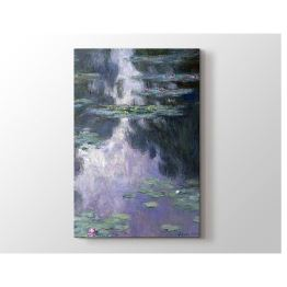 2645 Sanat Claude Monet - Water Lilies Tablo 20x30